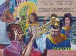 mural in the 9th ward, new orleans