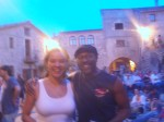 Me and Angel, Rajadell, Spain
