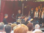 My man, Ramon Escale (piano) and The Band