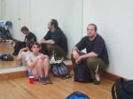 Rehearsal in N.Y.- Body Music Fest.