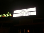 Coda, S.F.- Another live music venue gone... :(